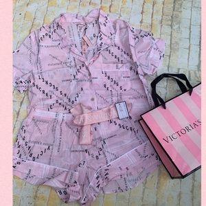 Victoria's Secret  Pajamas Set Short Sleeve